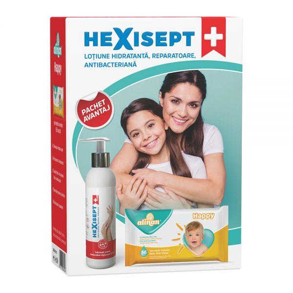 HEXISEPT + lot. hidr.repar,antibac. 250ml + Serv
