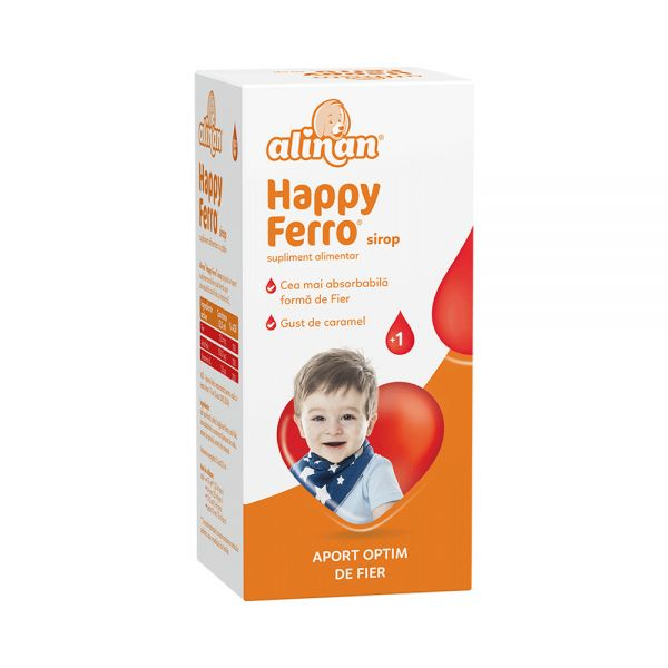 ALINAN HAPPYFERRO sirop 100 ml