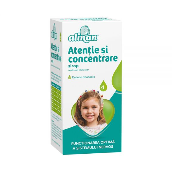 ALINAN ATENTIE SI CONCENTRARE sirop 150 ml