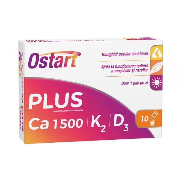 OSTART PLUS Ca 1500 + K2 + D3 x 10 pl