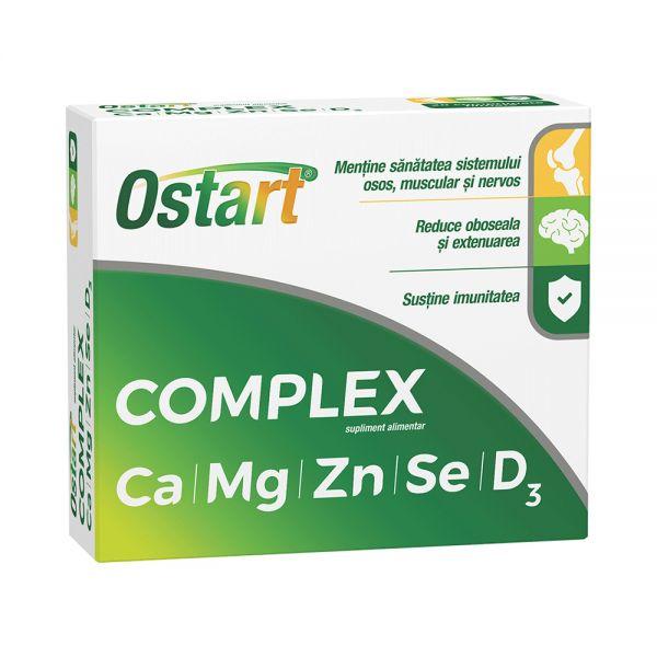 OSTART COMPLEX Ca+Mg+Zn+Se+D3 2bls x 10 cpr film