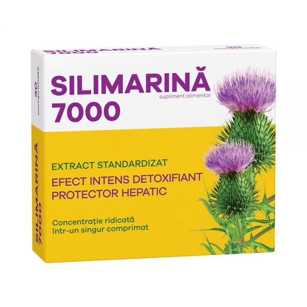 SILIMARINA 7000, 3 bls x 10 cpr