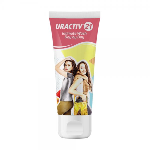 URACTIV 21 INTIMATE WASH gel 75 ml