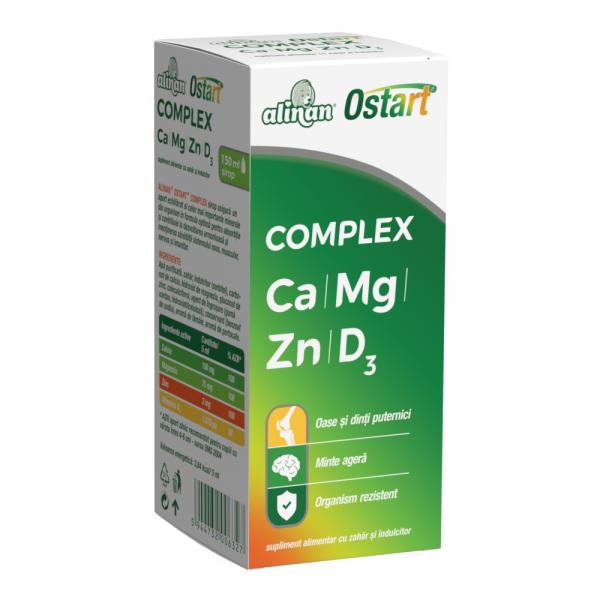 ALINAN OSTART COMPLEX sirop 200 ml