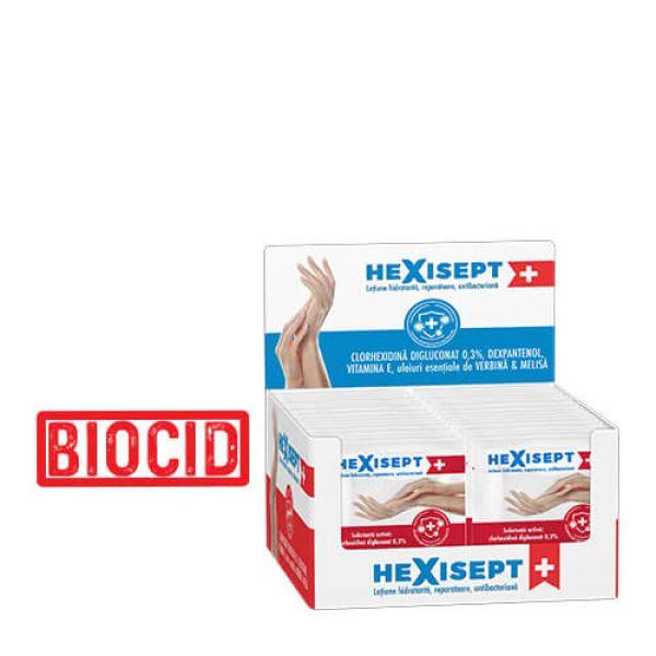HEXISEPT+ lotiune hidr.reparat,antibact.100plx2ml