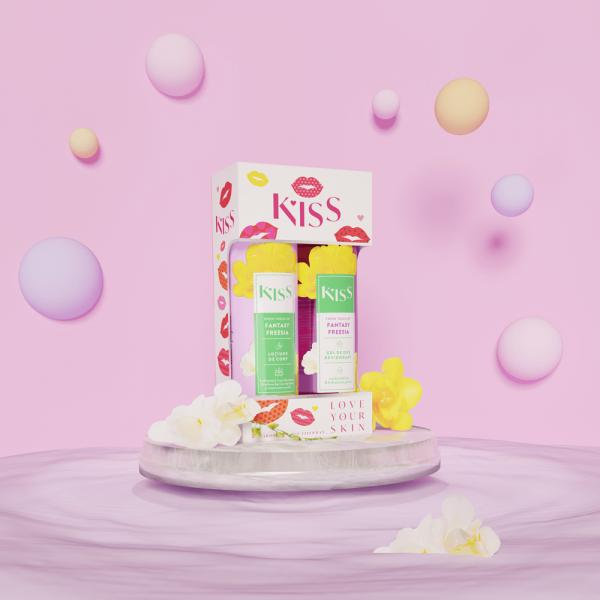 KISS - FANTASY FREESIA (gel dus + lot.corp 250ml)