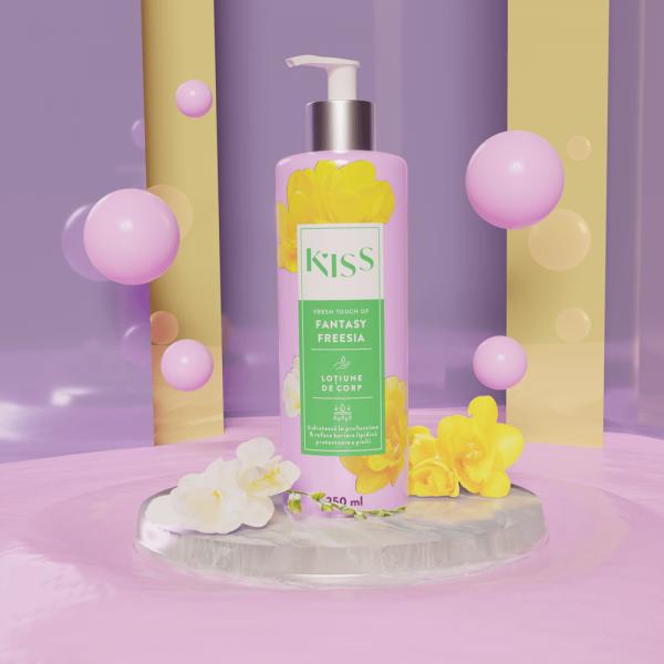 KISS - Lotiune de corp FANTASY FREESIA x 250 ml