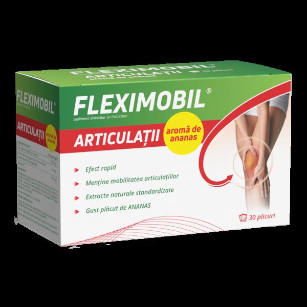 FLEXIMOBIL ARTICULATII AROMA DE ANANAS 30 pl