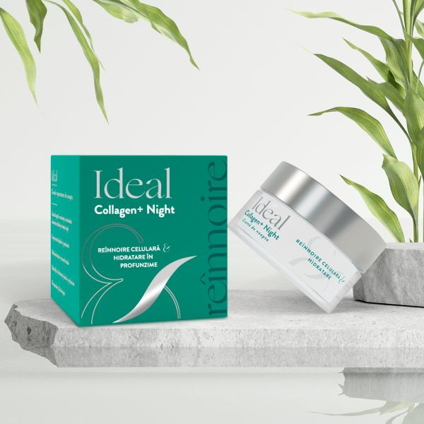 IDEAL Collagen + Night Crema de noapte x 50 ml