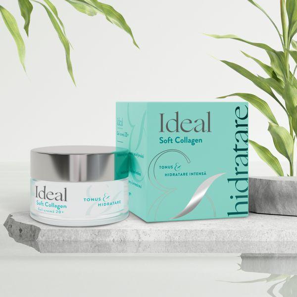 IDEAL Soft Collagen Gel-Crema 20+, x 50 ml