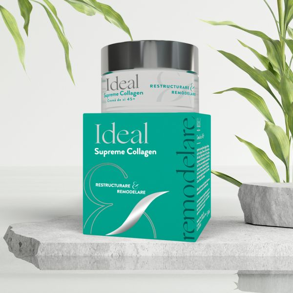 IDEAL Supreme Collagen Crema de zi 45+, x 50 ml