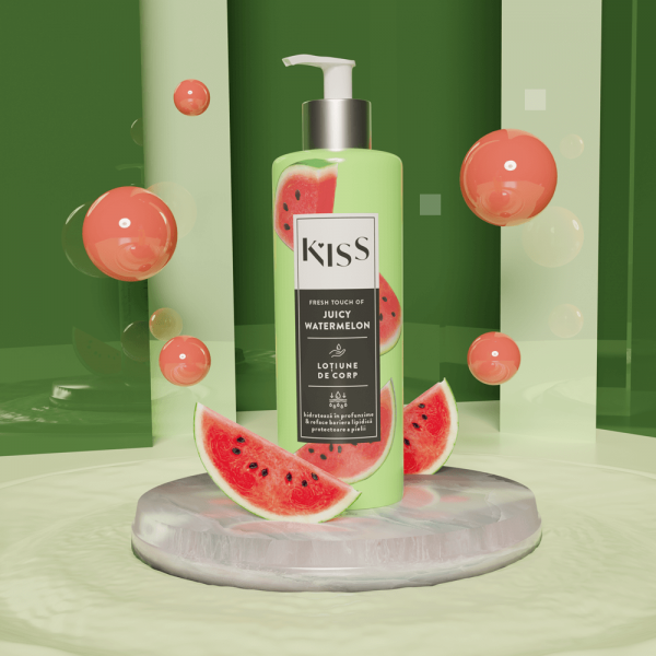 KISS - Lotiune de corp JUICY WATERMELON x 250 ml