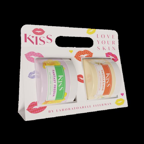 KISS-2 xUnt de corp FANTASY FREESIA+VANILLA&MILK