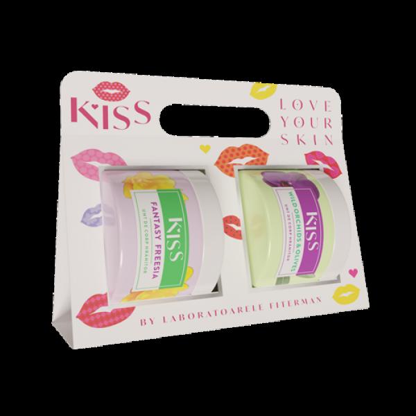 KISS-2xUnt de corp FANTASY FREESIA+WILD ORCHIDS&OL