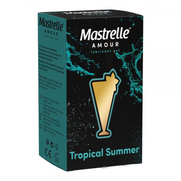 MASTRELLE AMOUR TROPICAL SUMMER gel lubrifiant 50g