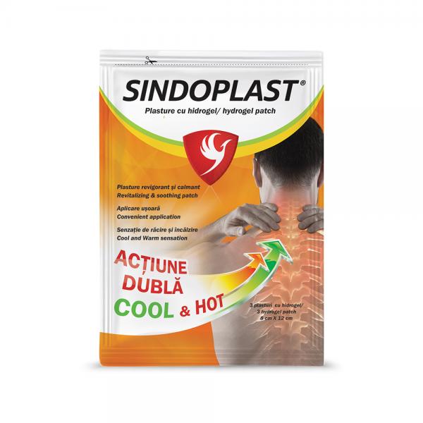 SINDOPLAST - plasturi cu hidrogel x 3 buc