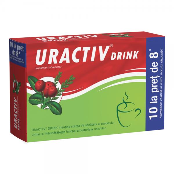 URACTIV DRINK x 8 pl + 2 pl promo