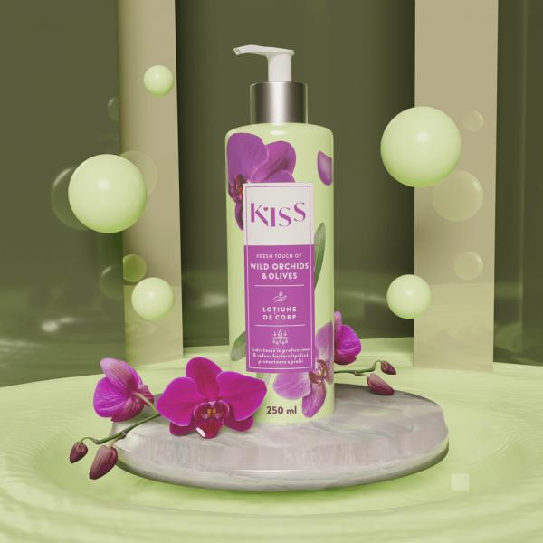 KISS - Lotiune de corp WILD ORCHIDS&OLIVES x250 ml