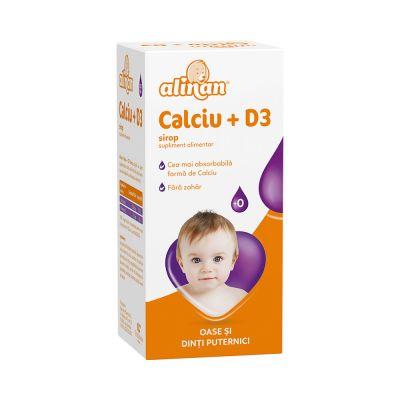 ALINAN CALCIU + D3 sirop 150 ml