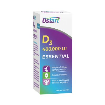 OSTART ESSENTIAL D3 400000 UI picaturi 20 ml