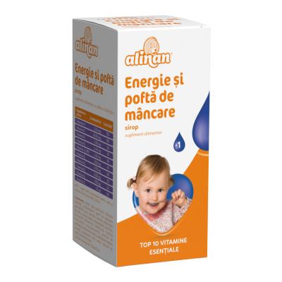 ALINAN ENERGIE SI POFTA DE MANCARE sirop 150 ml